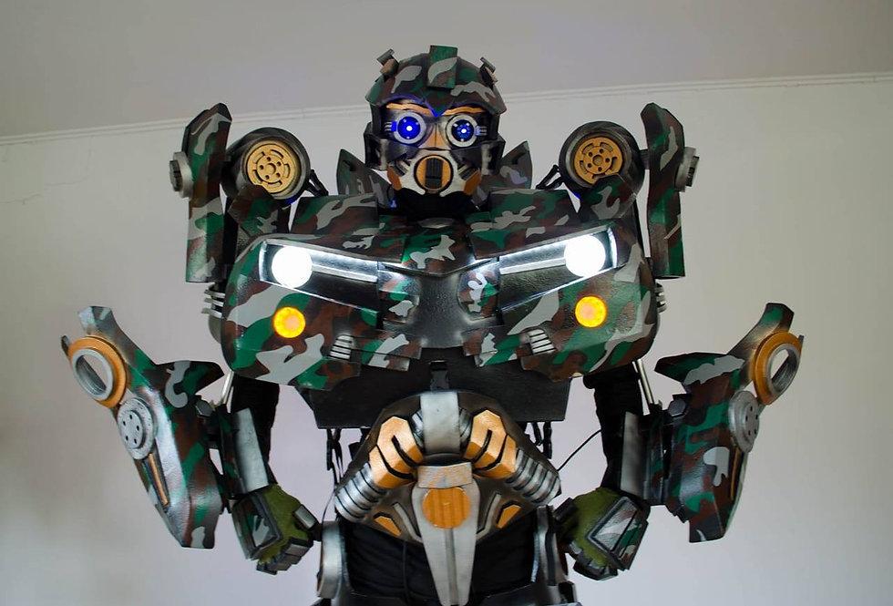 WarCar- костюм трансформера военный робот
