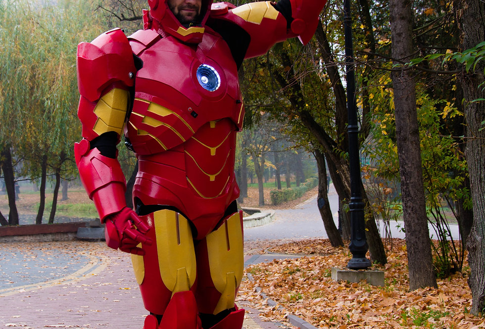 Iron Man - Costume to be Envied by Tony Stark