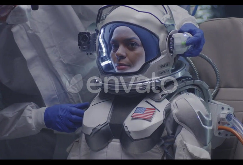 Astronaut space suite (female)