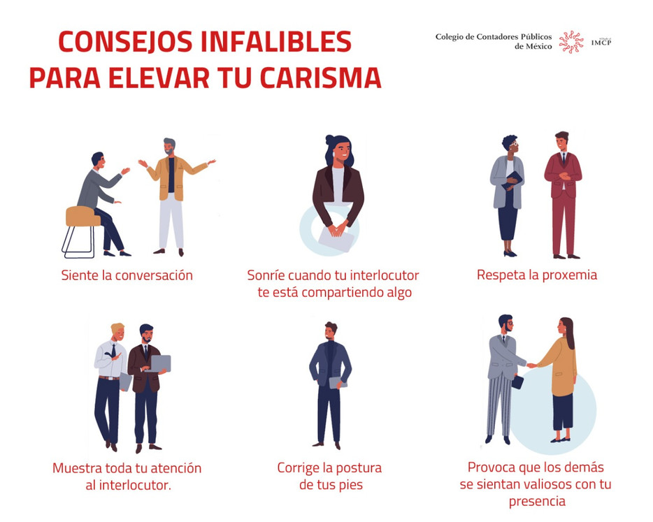 Consejos Infalibles para elevar tu carisma