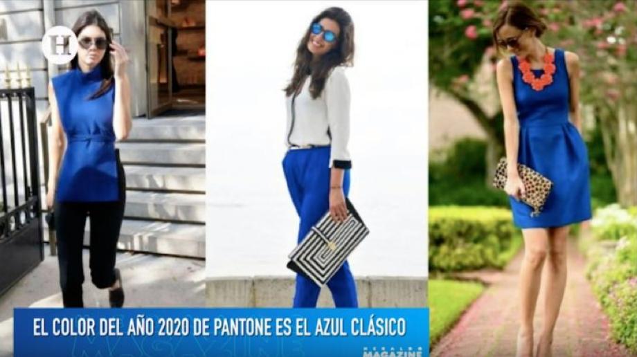 EL COLOR DEL AÑO 2020 DE PANTONE ES EL AZUL CLÁSICO