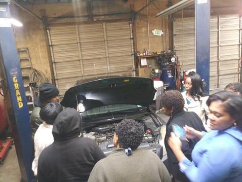 WOMEN'S CAR CARE WORKSHOP