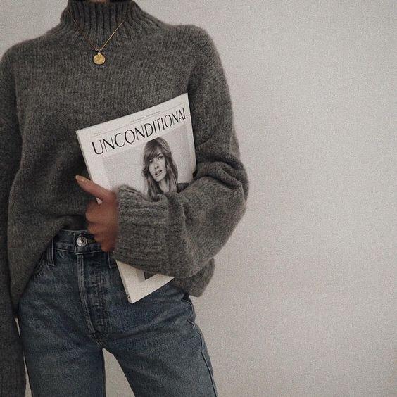 look tendance 2018; tenue minimaliste;