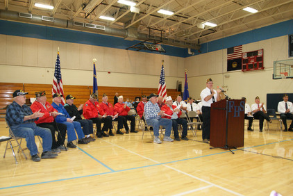 A Veteran's Day Assembly to Inspire Us All