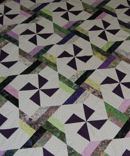 A Mesmerizing Mystery Quilt, Part Three