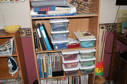 Sensational Storage Ideas for your Sewing Room