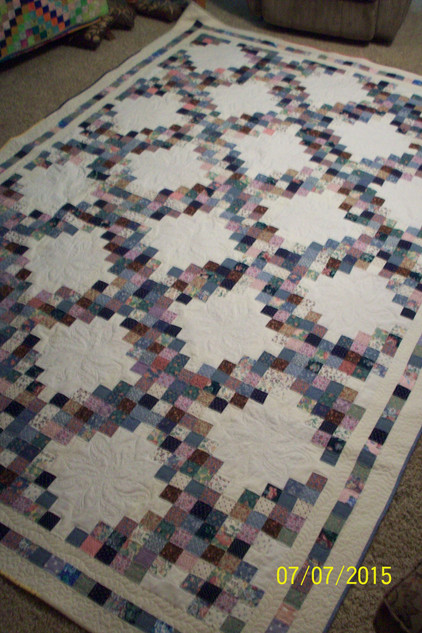 Twenty-one Years from UFO to Beautiful Quilt