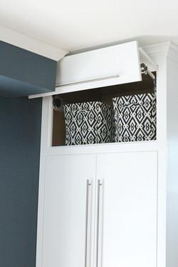flip up cabinet