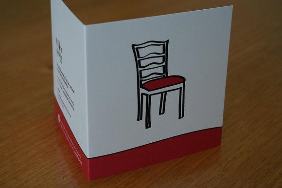 Gift/Greeting card - Furniture (07-001)