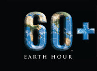 60+ Earth Hour Logo