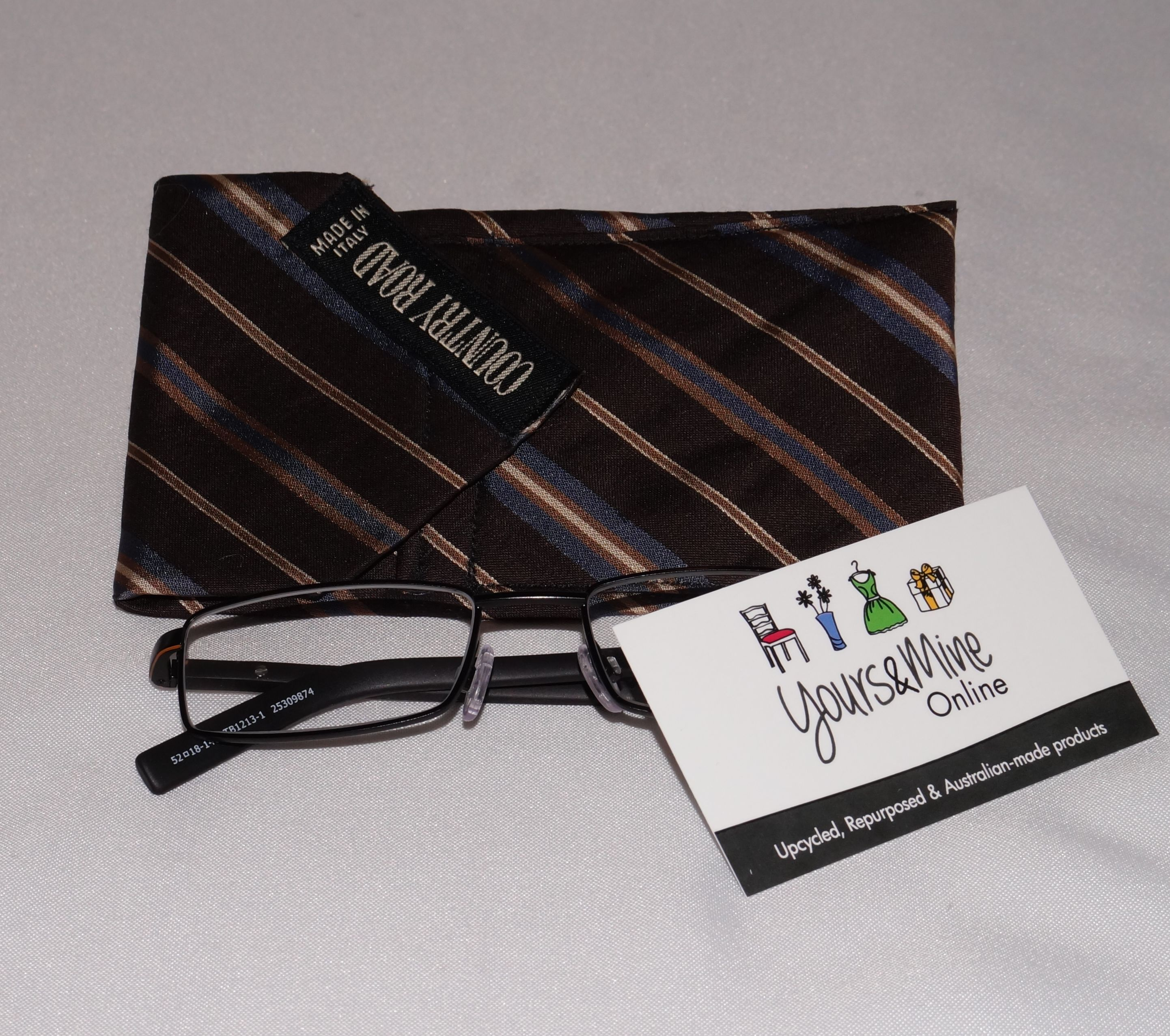 Upcycled-Tie-Glasses-Case-BrownCountryRoad_yoursandmineonline_LR.jpg