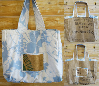 Reversible Tote - Coffee Bag (03-005)