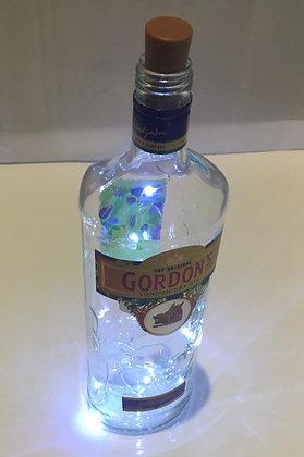 Gordons Gin Bottle Lamp
