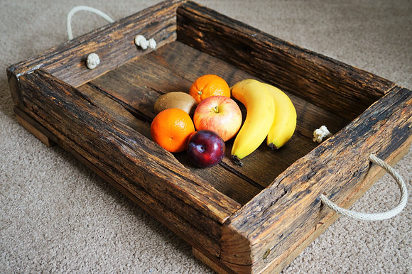 Reclaimed Timber Tray (02-004)