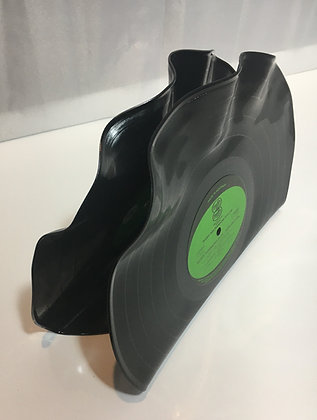 Upcycled Vinyl LP Record - Book End Set
