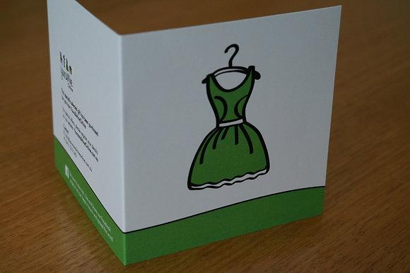 Gift/Greeting card - Fashion (07-003)