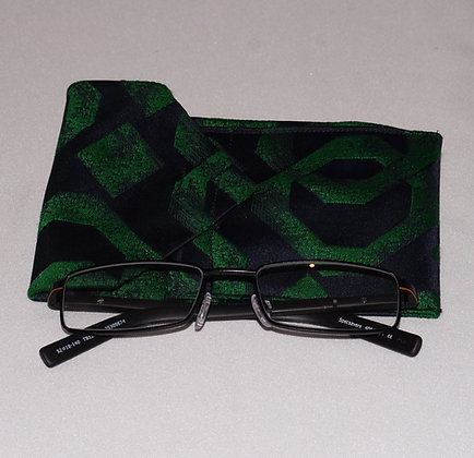 Mens Glasses & Card Holder - Green Hornet (04-033)