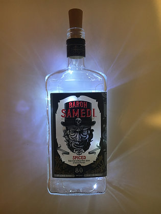 Baron Samedi Bottle Lamp