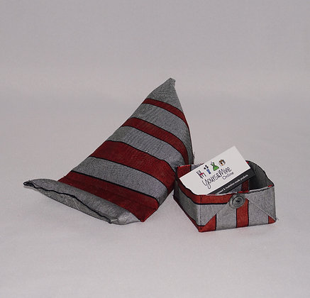 Large iPad Holder & Box set -Obi Red/Grey(05-008)