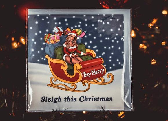 Sleigh This Christmas Card
