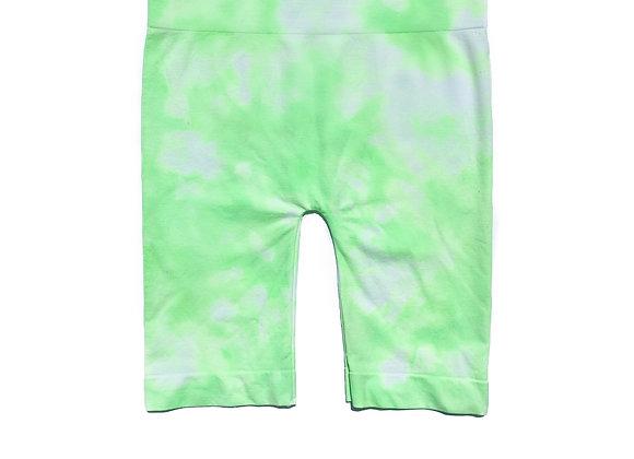 Lime-Light Seamless Bike Shorts