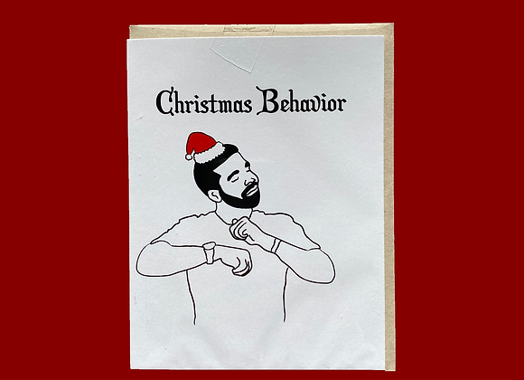 "Drake ""Behaviour"" Holiday Card"