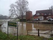 Hobbersdorfer Mühle - Büro Überschwemmung