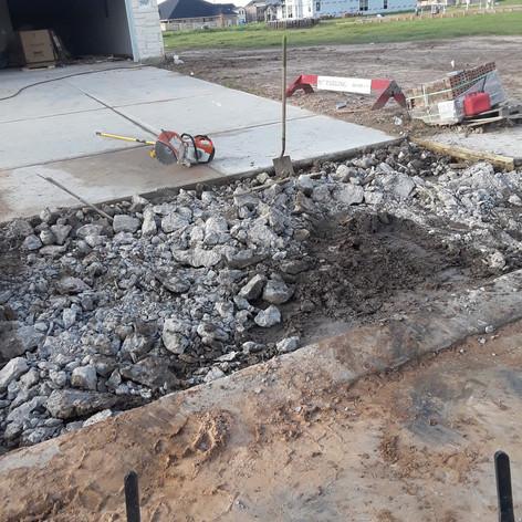 Concrete Breakup