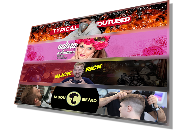 Youtube banner collage