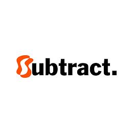 subtract modern logo