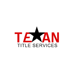 Texan Title Services houston red and black logo