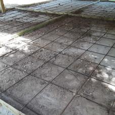 Concrete Rebar Laying