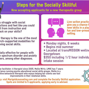 *Steps for the Socially Skillful*