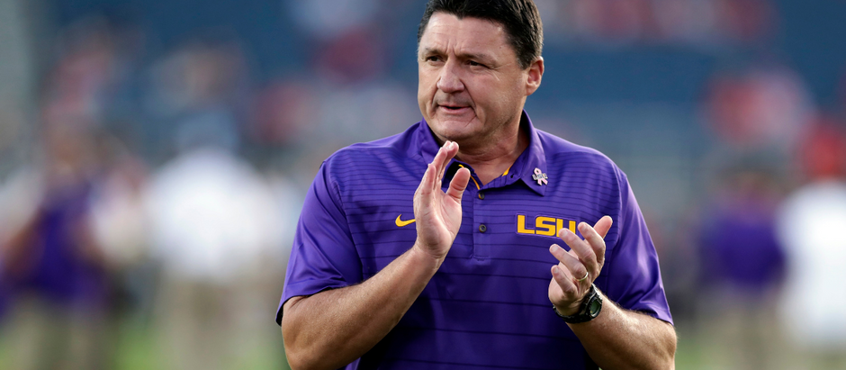 I AM INTRIGUED BY COACH O, THE LSU FOOTBALL CHAMPIONSHIP COACH