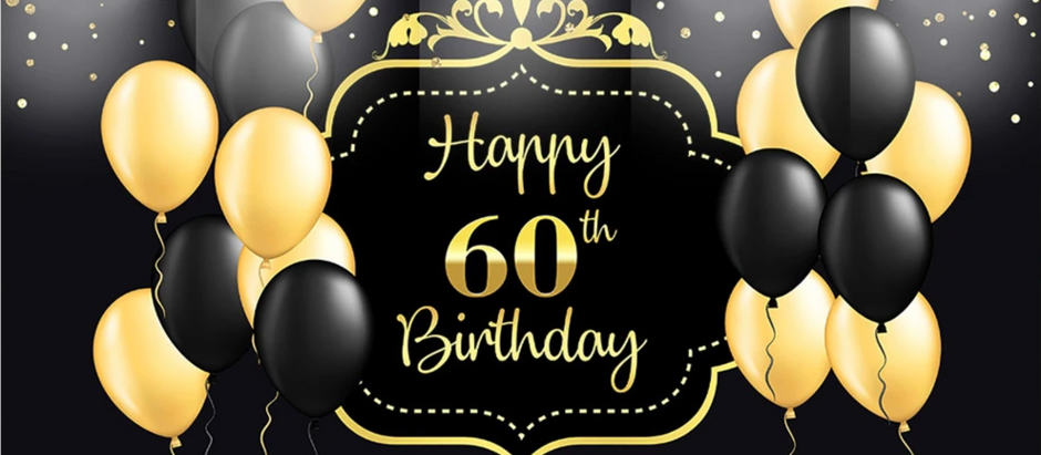 60 THOUGHTS ABOUT TURNING 60