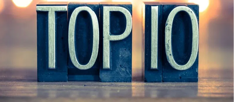 WHY NOT DEVELOP YOUR OWN TOP 10 LIST?