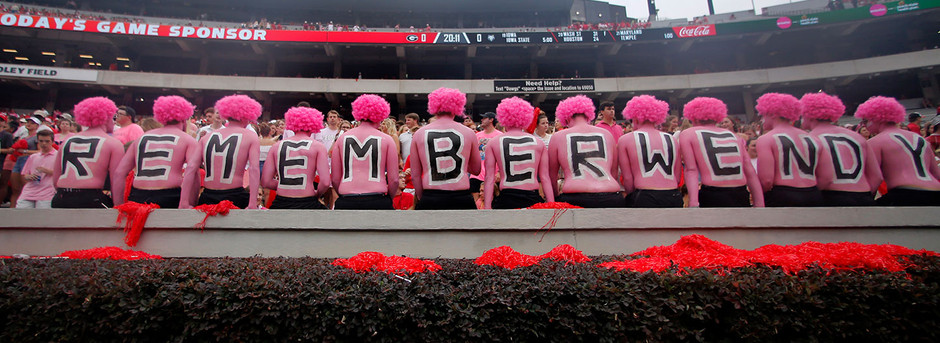 Why Georgia fans wore pink Saturday: The power of the past to change the future