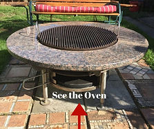 satellite BBQ Grill and pizza oven weld