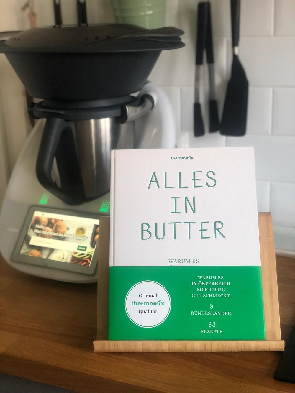 """Kochbuch """"Alles in Butter"""" von Vorwerk für den Thermomix TM6"""