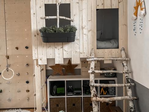 Bauplan: Kinderspielhaus indoor