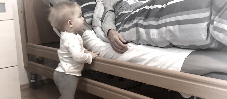 Die Nacht in der Opa ging