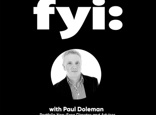 Meet our newest recruit - Paul Doleman (Podcast)