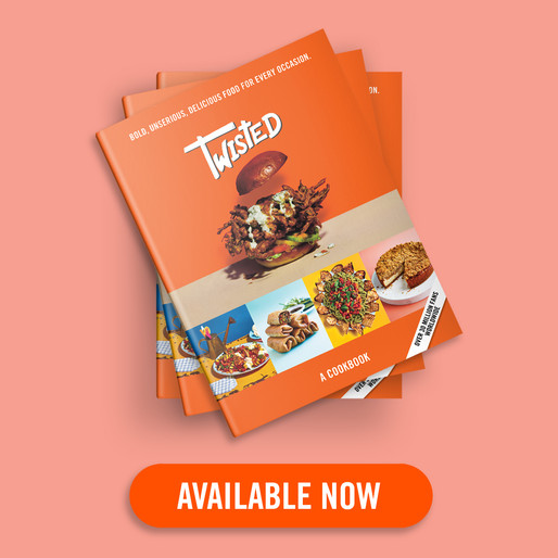 Twisted: A Cookbook has hit the shelves!