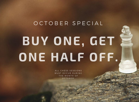 October Chess Special