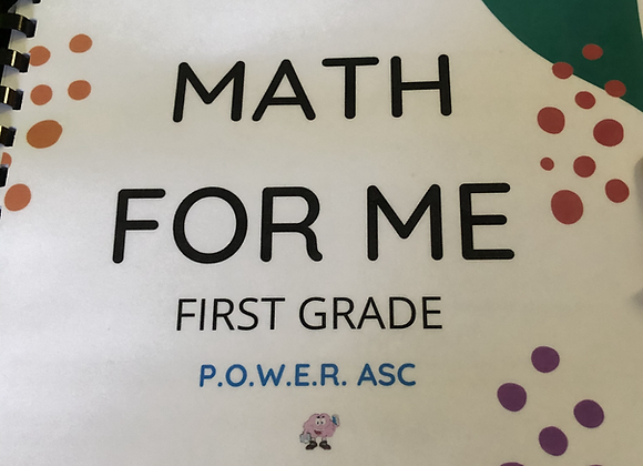 Math for Me First Grade