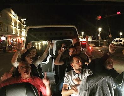 Tour panoramico di Miami di notte