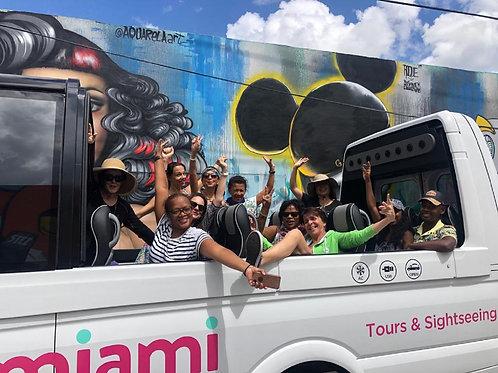 Miami Convertible Bus Tour Panoramic Sightseeing Tour