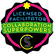 Collaboration superpowers - Licensed Facilitator badge