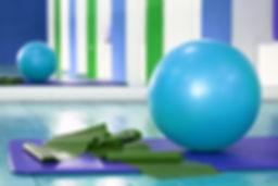 Stabilité Ball et étirement Band