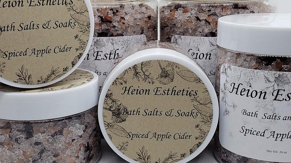 Spiced Apple Cider Bath Salts